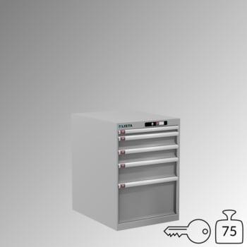 Lista Schubladenschrank - 14.368.020 - 800x564x725 mm (HxBxT) - 5 Schubladen - 75 kg - Key Lock - lichtgrau (RAL 7035) online kaufen - Verwendung 0