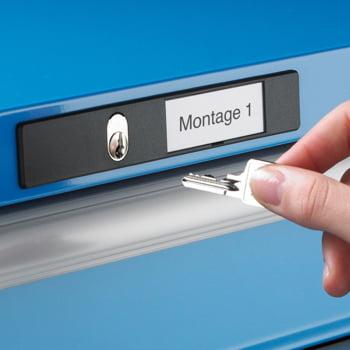 Lista Schubladenschrank - 14.407.010 - 850x564x725 mm (HxBxT) - 6 Schubladen - 75 kg - Key Lock - lichtblau (RAL 5012) online kaufen - Verwendung 3