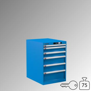 Lista Schubladenschrank - 14.407.010 - 850x564x725 mm (HxBxT) - 6 Schubladen - 75 kg - Key Lock - lichtblau (RAL 5012) online kaufen - Verwendung 0