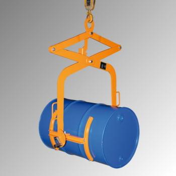 Fasswendezange - Traglast 100 kg - für 1 x 60-l-Fass - gelborange