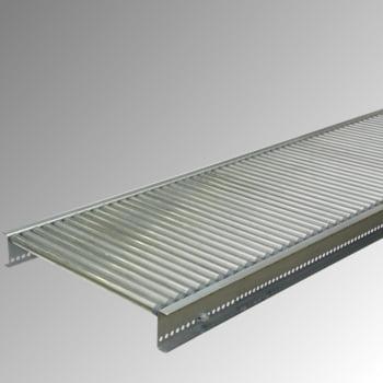 Klein-Rollenbahn - 200 x 2.000 mm (BxL) - 30 mm Stahlrohrrollen