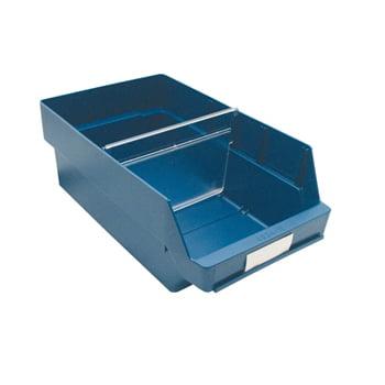 Regalkästen - PP - 150x240x400 mm - 10 Stück - Sortierkästen - Farbe blau
