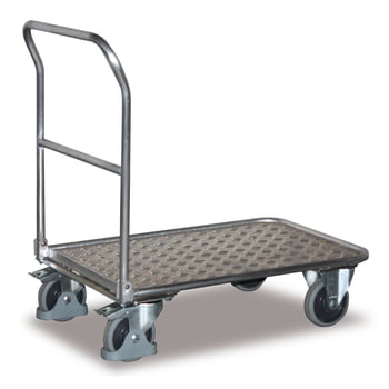 Klappwagen Aluminium - Ladefläche 450 x 720 mm (BxT) - Traglast 150 kg