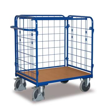 Paketwagen 3 Wände - Traglast 400 kg - Höhe 1.180 mm - Ladefläche 500 x 850 mm (BxT)