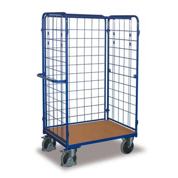 Paketwagen 3 Wände - Traglast 500 kg - Höhe 1.820 mm - Ladefläche 600 x 1.000 mm (BxT)