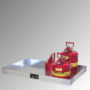 Kleingebindewanne - Volumen 60 l - (HxBxT) 60 x 1.850 x 600 mm - verzinkt online kaufen - Verwendung 2