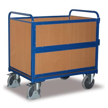 Holzkastenwagen - Traglast 500 kg - 1.095 x 715 x 1.060 mm (HxBxT)