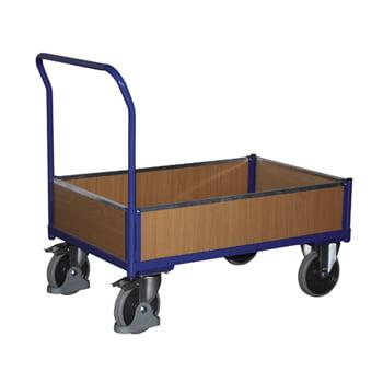 Kastenwagen mit Holz - Ladefläche 750 x 1.210 mm (BxT) - Traglast 500 kg
