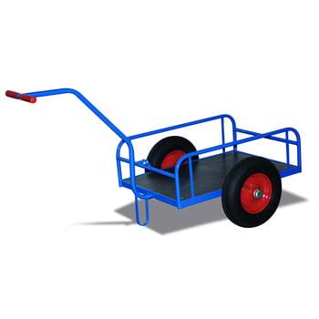 Handwagen - Traglast 400 kg - 860 x 825 x 1.605 mm (HxBxT) - Luftbereifung
