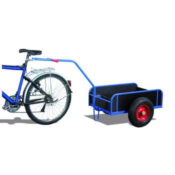 Fahrradanhänger mit Bordwänden - Traglast 400 kg - 860 x 825 x 1.840 mm (HxBxT)