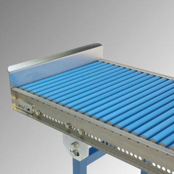 Klein-Rollenbahn - 400 mm (B) - 20 mm Stahlrohrrollen - Kurve 90 Grad online kaufen - Verwendung 2