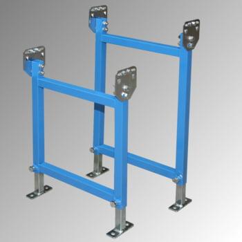 Klein-Rollenbahn - 400 mm (B) - 20 mm Stahlrohrrollen - Kurve 90 Grad online kaufen - Verwendung 4