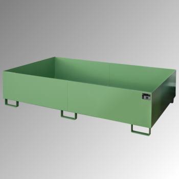 Regal-Bodenwanne f. Feldbreite 2.700 mm - 540 l - mit Gitterrost - verzinkt online kaufen - Verwendung 4