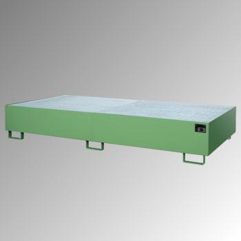 Regal-Bodenwanne f. Feldbreite 2.700 mm - 540 l - mit Gitterrost - verzinkt online kaufen - Verwendung 5