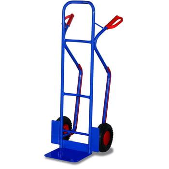Stahlrohrkarre - 250 kg Traglast - Schaufelmaß: 320 x 250 mm - Luftbereifung