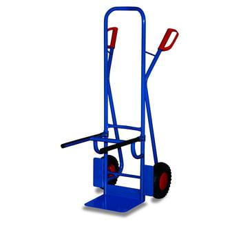 Stuhlkarre - Traglast 250 kg - Schaufelmaß 320 x 250 mm - Luftbereifung - Stahlrohr