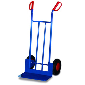 Stahlrohrkarre - 250 kg Traglast - Schaufelmaß: 480 x 300 mm - Luftbereifung