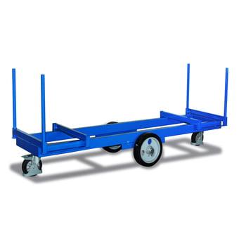 Langmaterial-Wagen - Traglast 2.000 kg - 610 x 2.500 mm (BxT)