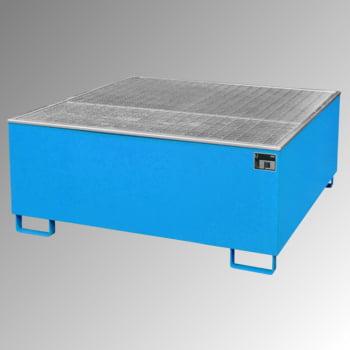 Auffangwanne - PE-Einsatz - 1.000 l - für 1 IBC-Container - lichtblau