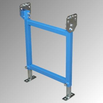 Ständer für 600 mm Klein-, Leicht-Rollen- und Röllchenbahn - (H) 390/570 mm