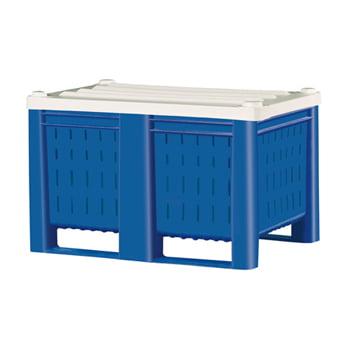 Palettenbox, lebensmittelecht - Wände und Boden geschlossen - Volumen 600 l online kaufen - Verwendung 2