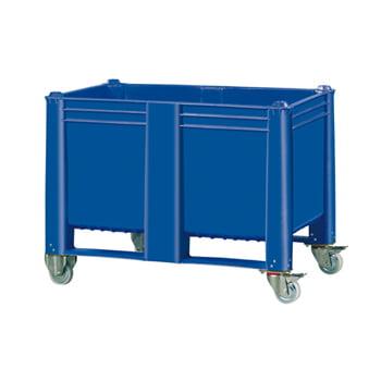 Palettenbox, lebensmittelecht - Wände und Boden geschlossen - Volumen 600 l online kaufen - Verwendung 4