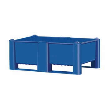 Palettenbox, lebensmittelecht - Wände und Boden geschlossen - Volumen 600 l