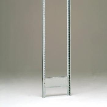 Weitspannregal - 2.500 x 2.010 x 800 mm (HxBxT) - 2,5 t - Grundregal - Stahlpaneele online kaufen - Verwendung 4