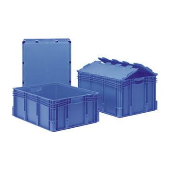 Euro-Stapelbehälter - Volumen 174 l - 60 kg - 420 x 600 x 800 mm (HxBxT) - Polypropylen - blau