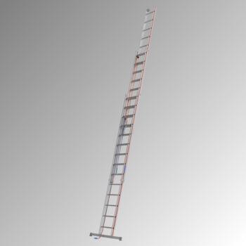 Aluminium-Seilzugleiter - Dreiteilig - Länge 9.760 mm - Aluleiter Hymer