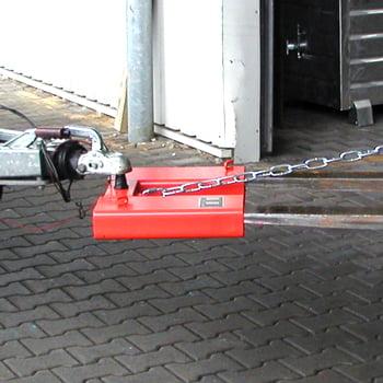 Rangierhilfe für Anhänger - Kugelkupplung - feuerrot