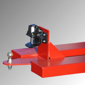 Rangierhilfe für Anhänger - Kugel + Rockinger 244-2 25 mm - feuerrot