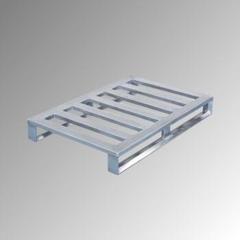 Aluminium Flachpalette - Kufen - Breite 800 mm - Tragkraft 1.000 kg - Zarges