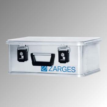 Zarges Box - Aluminium - 24 l - Höhe 200 mm - Breite 500 mm - Tiefe 340 mm - Transportkiste