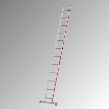 Aluminium-Sprossenanlegeleiter - 3.470 x 697 mm (LxB) - 12 Sprossen - Aluleiter Hymer