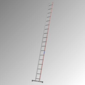 Aluminium-Sprossenanlegeleiter - 5.150 x 921 mm (LxB) - 18 Sprossen - Aluleiter Hymer