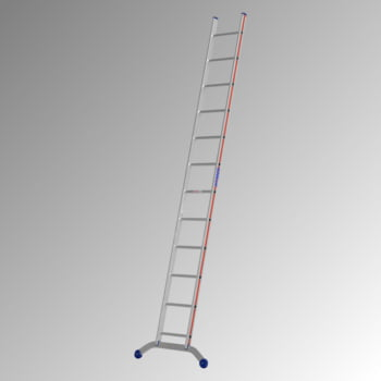Aluminium-Sprossenanlegeleiter - 3.560 x 962 mm (LxB) - 12 Sprossen - Aluleiter Hymer
