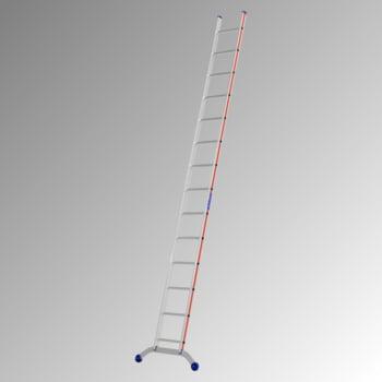 Aluminium-Sprossenanlegeleiter - 4.120 x 962 mm (LxB) - 14 Sprossen - Aluleiter Hymer