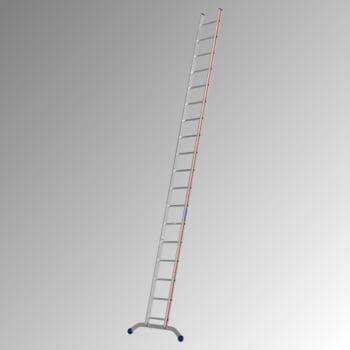 Aluminium-Sprossenanlegeleiter - 5.240 x 1.041 mm (LxB) - 18 Sprossen - Aluleiter Hymer