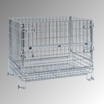 Gitterbox - 980 x 1.200 x 800 mm (HxBxT) - Tragkraft 1.000 kg - stapelbar - verzinkt