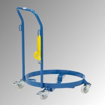 Fetra - Fassroller für 200 l Fässer - 250 kg - Rohrschiebebügel