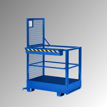 Arbeitsbühne - Traglast 300 kg - 1.910 x 800 x 1.200 mm - enzianblau