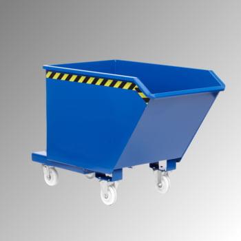 Muldenkippbehälter - 1.250,00 l Volumen - Traglast 2.000 kg - enzianblau