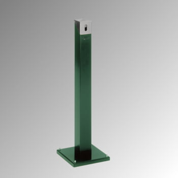 Standascher eckig - 2 l - 1.005 x 300 x 300 mm (H x B x T) - moosgrün