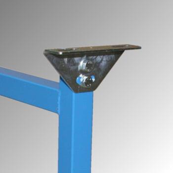 Ständer für 400 mm Schwerlastrollenbahn - (H) 390 - 570 mm online kaufen - Verwendung 2