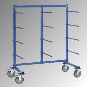 Fetra Tragarmwagen - 5 Ebenen mit PVC Überzug - (HxBxT) 1.807 x 1.400 x 800 - Traglast 500 kg