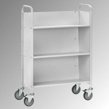 Fetra - Bürowagen - Tragkraft 150 kg - (BxT) 770 x 320 mm - 3 geneigte Fächer