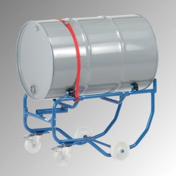 Fetra - Fasskipper für 200 l Fässer - Tragkraft 250 kg - fahrbar - Hebelstange