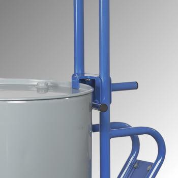 Fetra - Fasskarre für 200 l Fässer - 300 kg Traglast - 2 Stützräder - Vollgummibereifung online kaufen - Verwendung 4