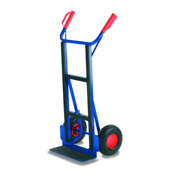 Gerätekarre - 250 kg Traglast - 450 x 150 mm Schaufelmaß - Luftbereifung